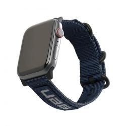 Ремешок для Apple Watch 42/ 44мм UAG Nato Eco Strap (Темно-синий)