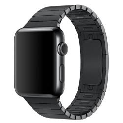 Ремешок из нержавеющей стали для Apple Watch 42/ 44мм Link Bracelet (Черный)
